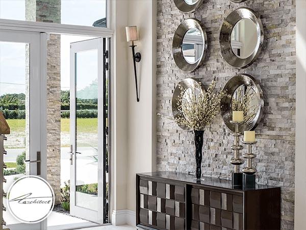 آینه ها را خم کنید تا خانه تان روشن تر شود -روشنایی فضای داخلی