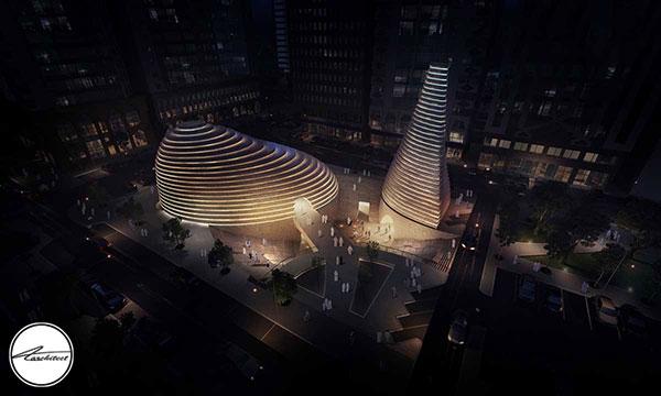 طراحی و اجرای فرم و نما در معماری مدرن
