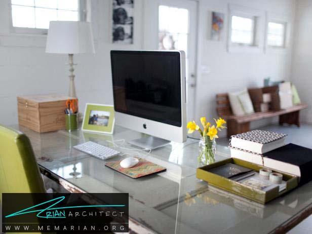 فضای مناسب برای بخش های مختلف -سازماندهی دفتر کار خانگی