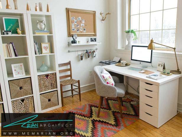ایجاد مراکز مختلف در اتاق -سازماندهی دفتر کار خانگی