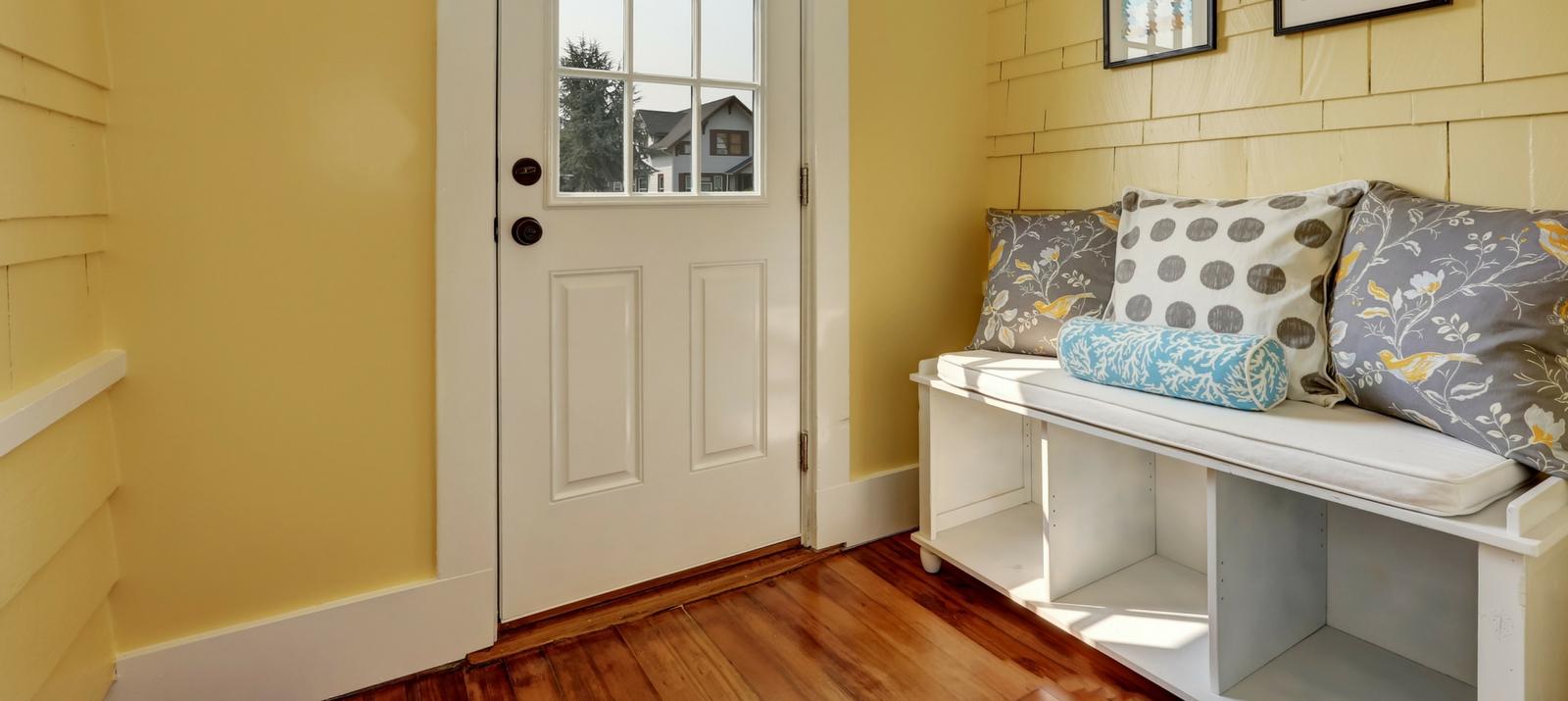 10 ایده جذاب و کاربردی برای سازماندهی ورودی خانه