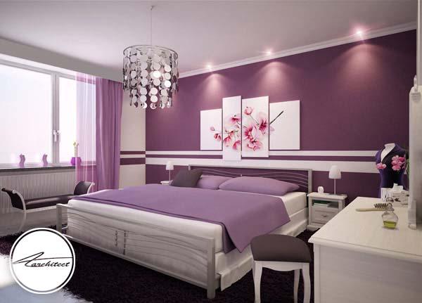 اتاق خواب مرتب و آرامش بخش -اتاق خواب آرامش بخش