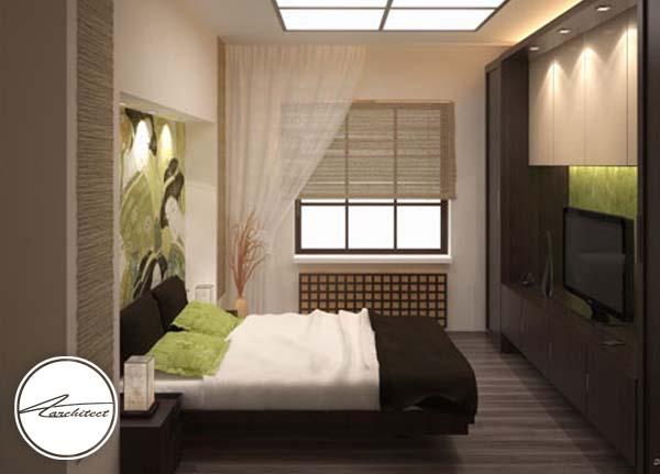 اتاق خواب آرامش بخش سبک ژاپنی -اتاق خواب آرامش بخش