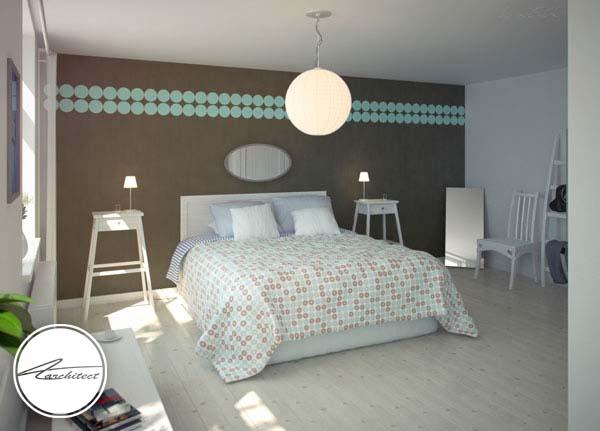 دکوراسیون اتاق خواب آرامش بخش سوئدی -اتاق خواب آرامش بخش