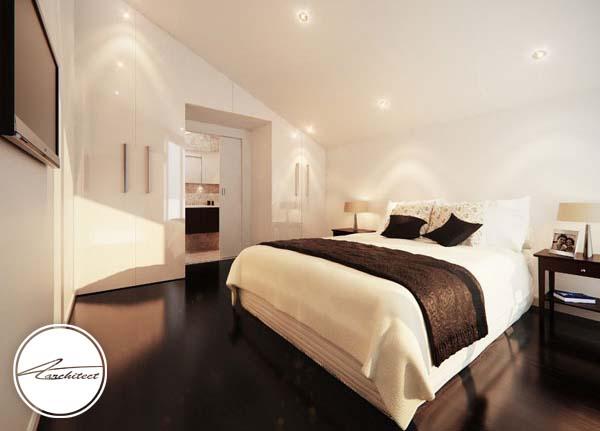 اتاق خواب مدرن استرالیایی -اتاق خواب آرامش بخش