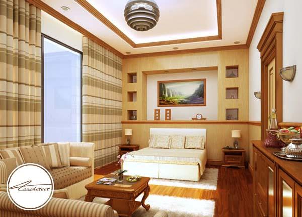 اتاق خواب آرامش بخش چوبی -اتاق خواب آرامش بخش
