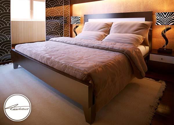 دکوراسیون اتاق خواب ساده و آرامش بخش دونفره -اتاق خواب آرامش بخش