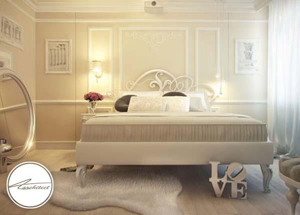 اتاق خوابی سرشار از عشق -اتاق خواب آرامش بخش
