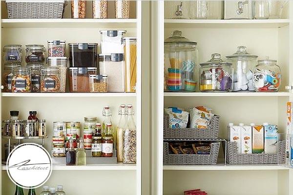 برای نظم دادن به ظروف در خانه تکانی چه کنیم؟ -آموزش خانه تکانی