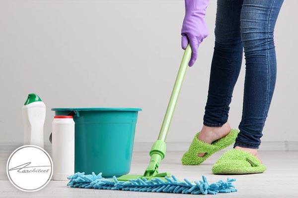 سازماندهی وسایل نظافت -آموزش خانه تکانی