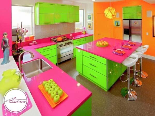 رنگ های شاد و جلب توجه کننده راهی برای فرار از احساس خستگی -دکوراسیون داخلی اتاق خواب