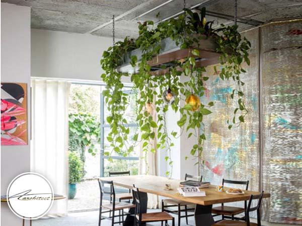 با استفاده از گل و گیاه جریان زندگی را احساس کنید -دکوراسیون داخلی اتاق خواب