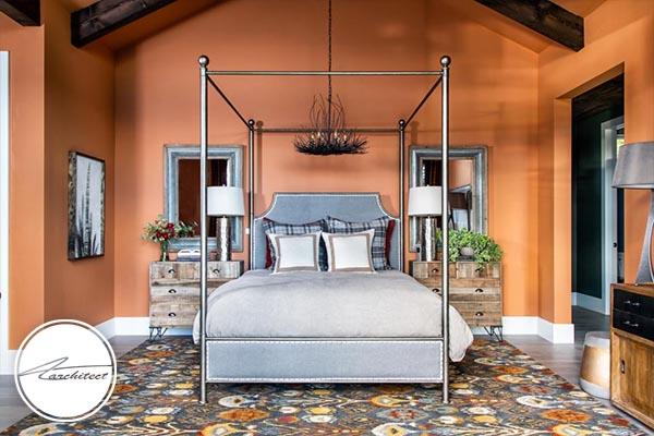 تخت خواب چهارستون مدرن - دکوراسیون داخلی مدرن