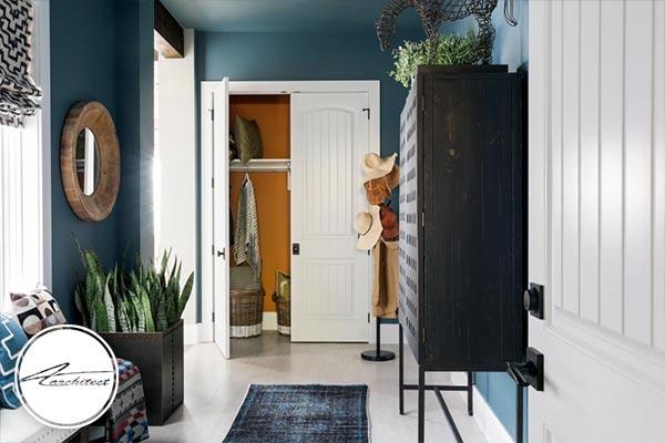 ترکیب رنگ آبی و سفید راهی برای رسیدن به دکوراسیون مدرن - دکوراسیون داخلی مدرن