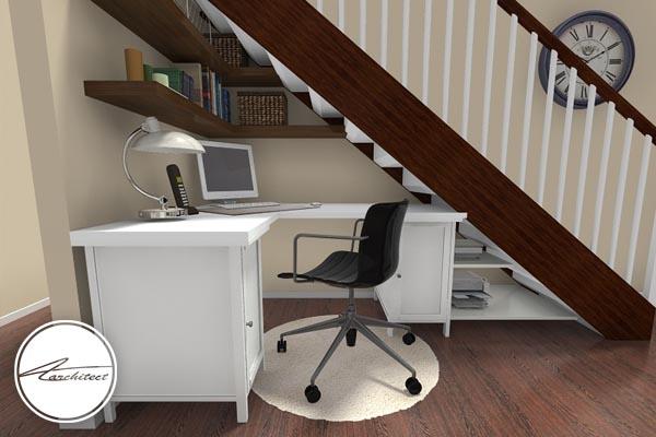 حذف فضاهای زائد و اضافه -بزرگ نشان دادن خانه کوچک