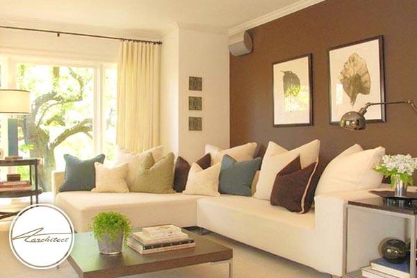 انتخاب رنگ خوب، گامی بزرگ در بزرگ تر دیده شدن محیط -بزرگ نشان دادن خانه کوچک