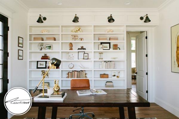 بزرگ نشان دادن اتاق کار کوچک -بزرگ نشان دادن خانه کوچک