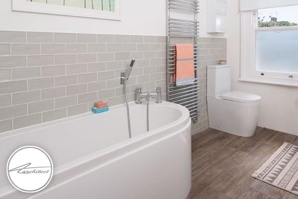 بزرگ نشان دادن حمام کوچک -بزرگ نشان دادن خانه کوچک