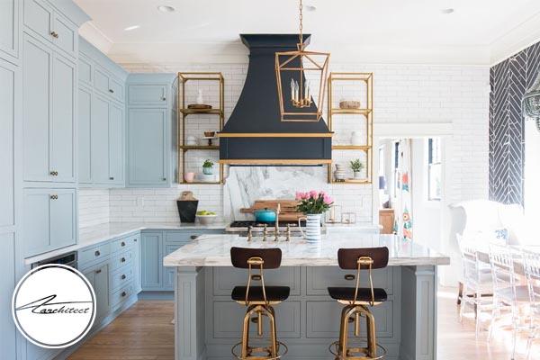 بزرگ نشان دادن آشپزخانه خانه کوچک -بزرگ نشان دادن خانه کوچک