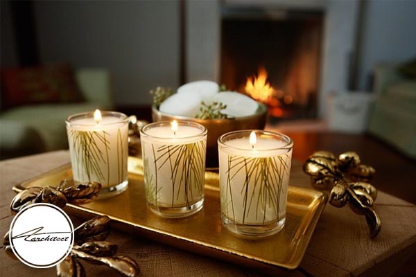 رنگ های مختلف برای شمع و جاشمعی و ویژگی های آن