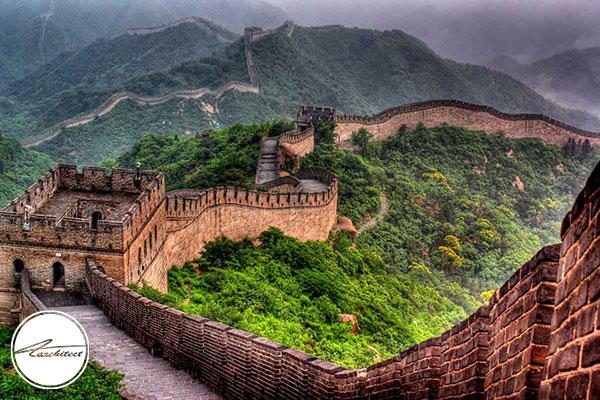 استفاده از فنگ شویی در دیوار چین