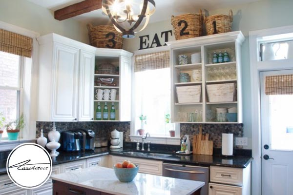 توجه به وسایل نگهداری ظروف در آشپزخانه-تمیز کردن خانه