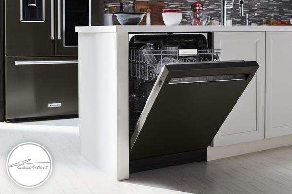 بکارگیری ماشین ظرفشویی برای شستن ظروف کثیف-تمیز کردن خانه