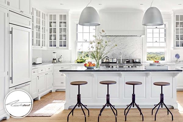 طرح های دکوراسیون آشپزخانه در سال 2019 (1)