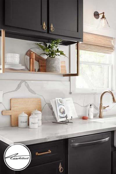 قفسه نگهداری ظروف زیر کابینت-طرح های آشپزخانه در سال 2019