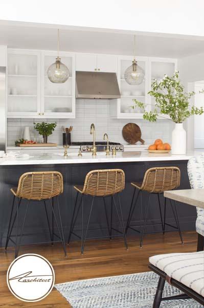 ترکیب طراحی مدرن و سنتی-طرح های آشپزخانه در سال 2019