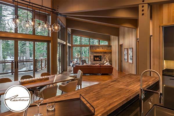 استفاده از چوب -طرح های آشپزخانه در سال 2019