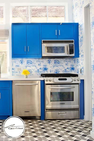 کابینت های رنگی -طرح های آشپزخانه در سال 2019