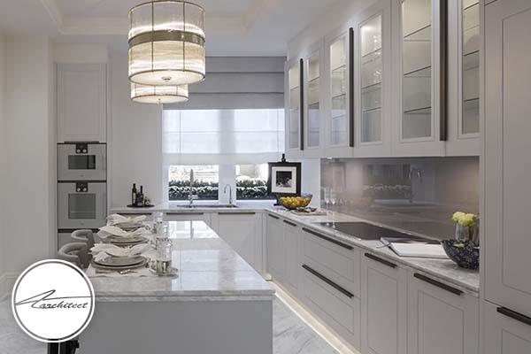 ترکیب متریال ها با یکدیگر -طرح های آشپزخانه در سال 2019
