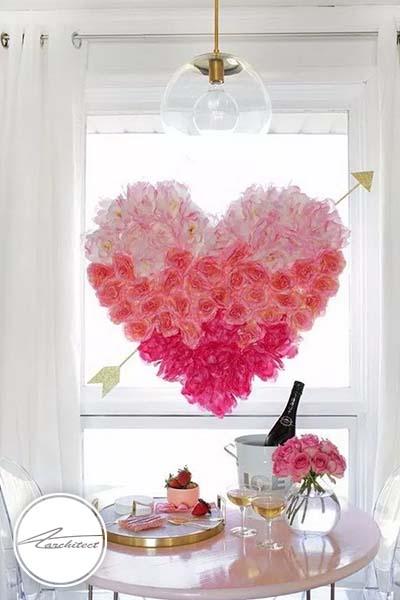 ایده های عاشقانه دکوراسیون روز ولنتاین (14) - دکوراسیون ولنتاین