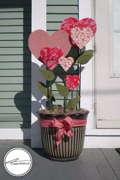 ایده های عاشقانه دکوراسیون روز ولنتاین (9) - دکوراسیون ولنتاین