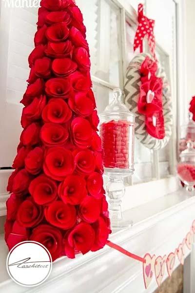 ایده های عاشقانه دکوراسیون روز ولنتاین (6) - دکوراسیون ولنتاین