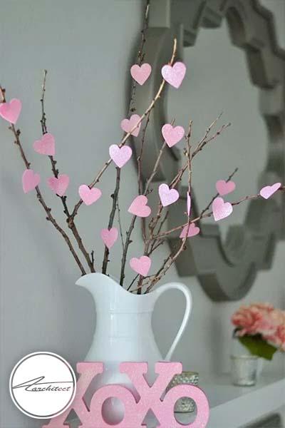 ایده های عاشقانه دکوراسیون روز ولنتاین (5)