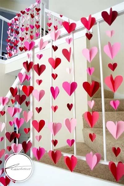 ایده های عاشقانه دکوراسیون روز ولنتاین (1) - دکوراسیون ولنتاین