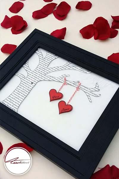 ایده های عاشقانه دکوراسیون روز ولنتاین (2) - دکوراسیون ولنتاین