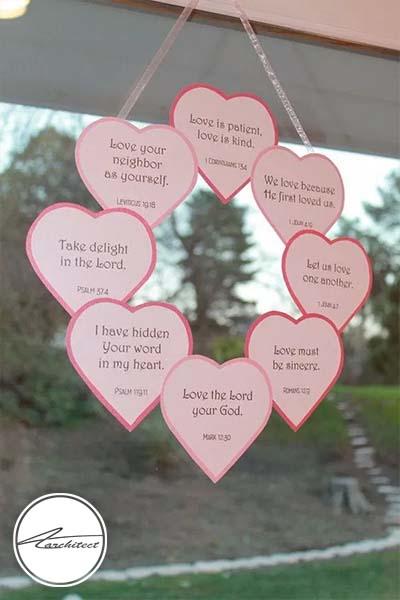 ایده های عاشقانه دکوراسیون روز ولنتاین (26) - دکوراسیون ولنتاین