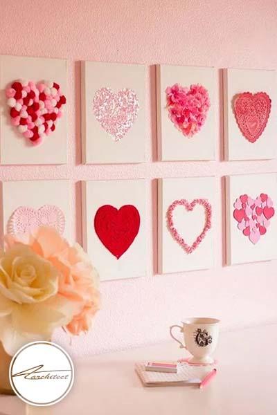 ایده های عاشقانه دکوراسیون روز ولنتاین (25) - دکوراسیون ولنتاین