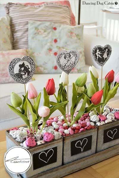 ایده های عاشقانه دکوراسیون روز ولنتاین (24) - دکوراسیون ولنتاین