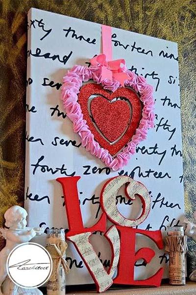 ایده های عاشقانه دکوراسیون روز ولنتاین (23) - دکوراسیون ولنتاین