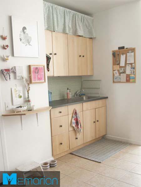 فضای ذخیره سازی بالای کابینت -کابینت در دکوراسیون آشپزخانه