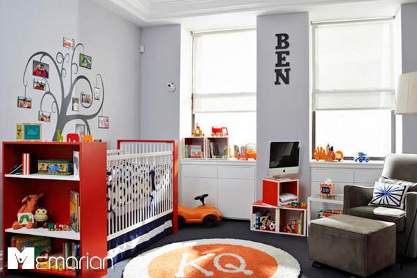 سرویس خواب اتاق کودک-تم اتاق کودک