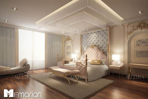 نورپردازی در دکوراسیون داخلی اتاق خواب (2)