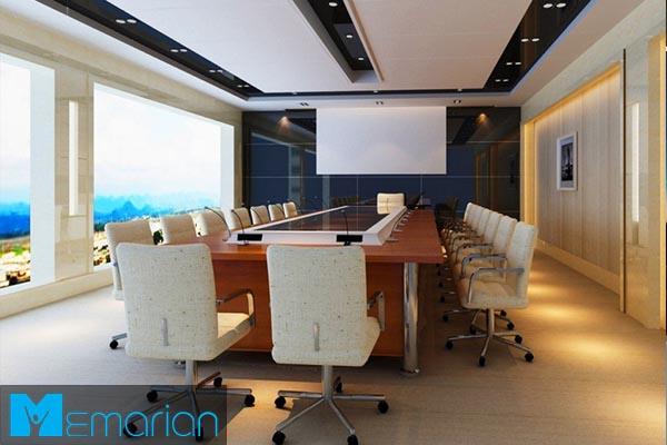 طراحی یک محیط اداری شیک و مدرن توسط گروه معماریان