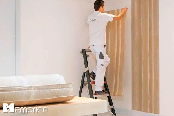 نصب صحیح کاغذ دیواری منزل (1)