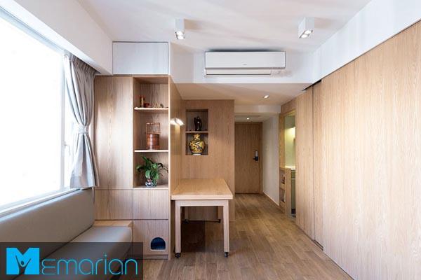 طراحی دکوراسیون داخلیاستودیو آپارتمان (4)