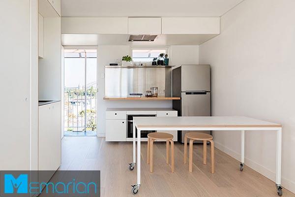 طراحی دکوراسیون داخلیاستودیو آپارتمان (3)